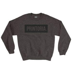 felpa-grigia-printoria-punto-charcoal-sweatshirt-stampa-grafica-nera-graphic-print-black