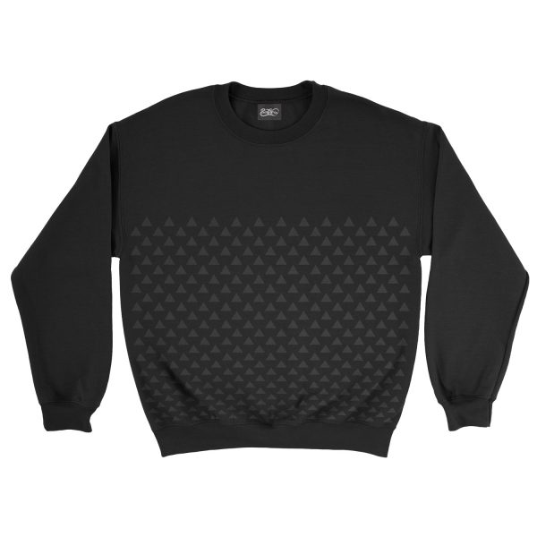 felpa-nera-pattern-triangle-black-sweatshirt-stampa-grafica-nera-graphic-print-black