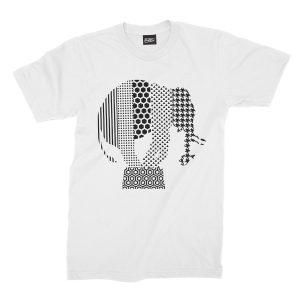 maglietta-bianca-elephant-white-t-shirt-stampa-grafica-nera-graphic-print-black