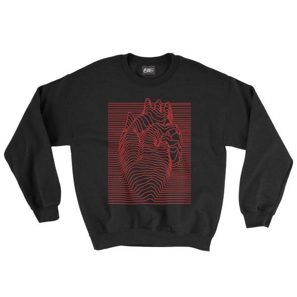 felpa-nera-illusion-heart-black-sweatshirt-stampa-grafica-rossa-graphic-print-red