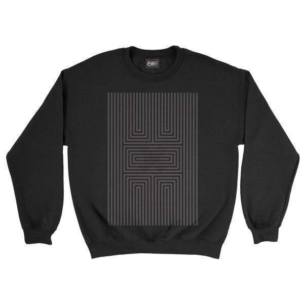felpa-nera-illusion-x-black-sweatshirt-stampa-grafica-nera-graphic-print-black