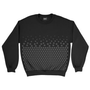 felpa-nera-pattern-hexagon-black-sweatshirt-stampa-grafica-nera-graphic-print-black