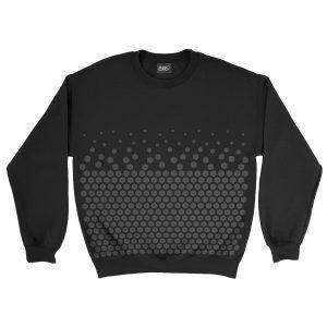 felpa-nera-pattern-hexagon-black-sweatshirt-stampa-grafica-nera-graphic-print-black