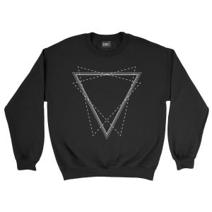 felpa-nera-triangle-black-sweatshirt-stampa-grafica-bianca-graphic-print-white
