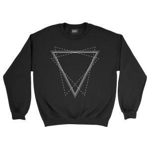 felpa-nera-triangle-black-sweatshirt-stampa-grafica-bianca-graphic-print-white