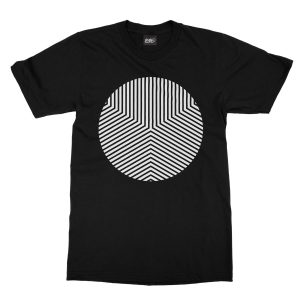 maglietta-nera-circle-edge-black-t-shirt-stampa-grafica-bianca-graphic-print-white