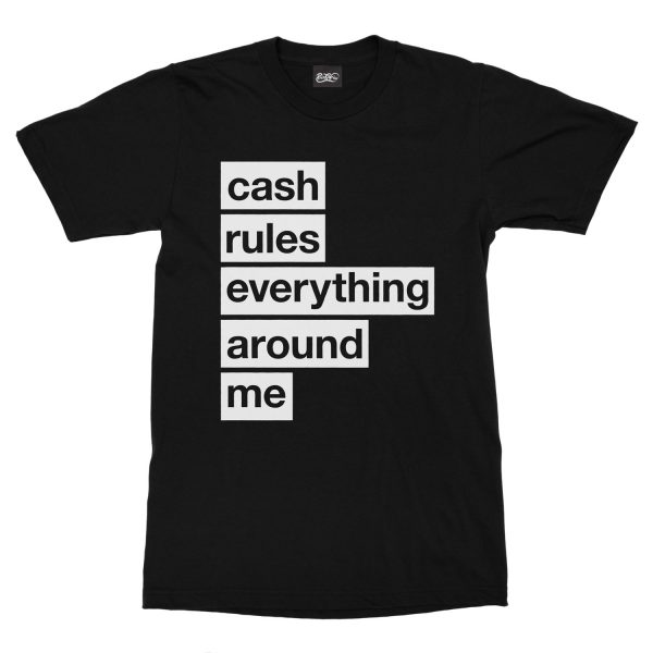 maglietta-nera-cream-cash-rules-everything-around-me-black-t-shirt-stampa-grafica-bianca-graphic-print-white