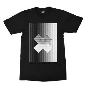 maglietta-nera-illusion-x-black-t-shirt-stampa-grafica-bianca-graphic-print-white