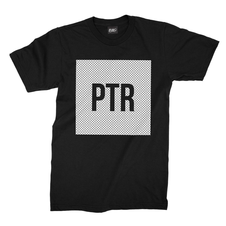 Ptr box black t shirt printoria clothing finest for Tampa t shirt printing
