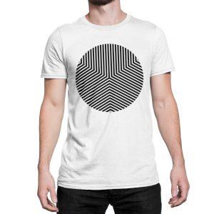 vestita-maglietta-bianca-circle-edge-white-t-shirt-stampa-grafica-nera-graphic-print-black
