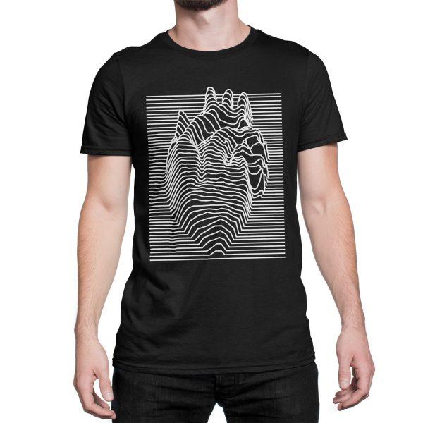 vestita-maglietta-nera-illusion-heart-black-t-shirt-stampa-grafica-bianca-graphic-print-white
