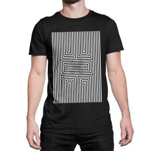 vestita-maglietta-nera-illusion-x-black-t-shirt-stampa-grafica-bianca-graphic-print-white